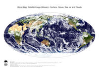 #5 Map World: Surface, Ocean, Sea Ice and Clouds