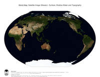 #20 Map World: Surface, Shallow Water and Topography