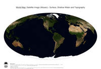 #24 Map World: Surface, Shallow Water and Topography