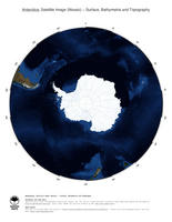#2 Map Antarctica: Surface, Bathymetrie and Topography
