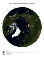 #3 Map Arctic Ocean: Surface, Shallow Water and Topography